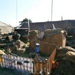 Battlement display