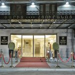 Entrance of Paris Hotel Yerevan - 2 minutes of walk from Republic Square