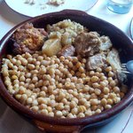 Cocido Lebaniego - Chickpeas, cabbage and meat