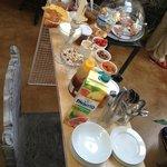 Buffet du petit-déjeuner (en sus de la carte)