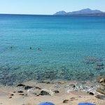 Spiaggia privata campeggio telis