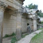 Ruins next to the Marble house