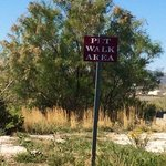 Dump? No, La Quinta Rock Springs WY pet area.