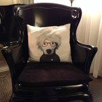 Best cushion I've seen in a hotel room