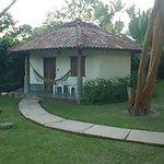 Vista de una de las habitaciones(bungalow)