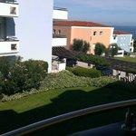 Balkonblick zum Meer