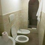 1st bathroom...lovely