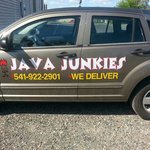 Java Junkies Delivery Car!!!