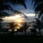 il tramonto dal Mai SPA