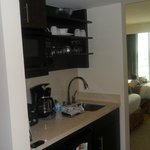 Great kitchenette , fully stocked, great for staying 1-7 days