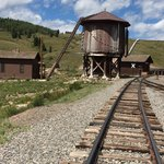 Osier Train stop (lunch) on the Cumbres-Antonito Scenic Narrow Train ride