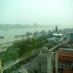 The Yangtze view was amazing!