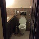 tiny washroom