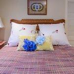 Butterfly Room, private upstairs bedroom, restored furnishings and original art, sleeps 2 - $65