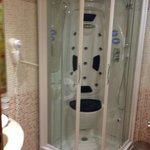 Komische Dusche