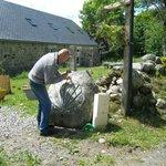 Daniel sculpte la coquille Saint Jacques
