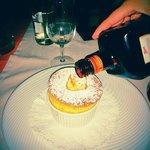 Orange Souffle avec cognac