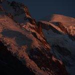 Stunning Mont Blanc sunset from Vert et Blanc