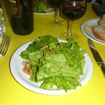 The salade starter