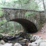 the cobblestone bridge