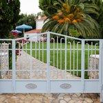 gate to Sellados villas