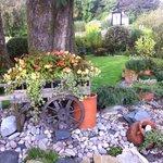 A quaint garden