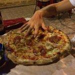 Huge pizza!!!