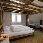 Zimmer im Barockhaus mit Badewanne