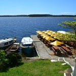 Barco e restaurante