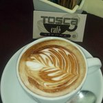 Tosca cafe art to start the day