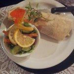wrap allo struzzo con insalata