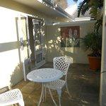 terrace outside room