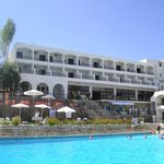 Hotel when it was sunny