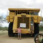 Mine truck - big!