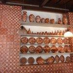 Catharina Paraguaçu ...sala do café da manhã com cerâmicas