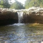 water fall at Criders on the Frio