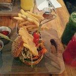 Burger + jus