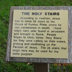 Holy Stairs to Cross