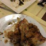 Second course. Chicken was sooooo good