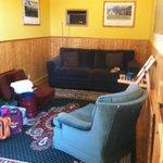 Livingroom in Boxcar Jane