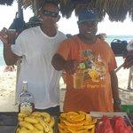 Drinks on the island
