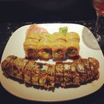 The Jasmine's Moon and Special Salmon Rolls