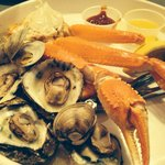 Steam Pot Combo Crab legs, oysters, clams and dozen of shrimp