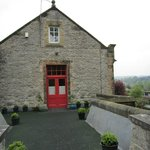 Guests private entrance with view over Bakewell