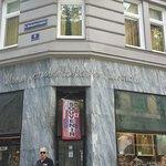 Corner of Mariahilfer Strasse with Das Tyrol