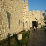 Яффские ворота - историческое место в Иерусалиме. Дух захватывает, когда проходишь их!