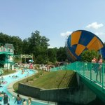 It is small for a Six Flags Park but I enjoyed the Water Park