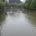 Boating at Century Park
