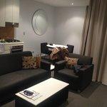 One bedder living room