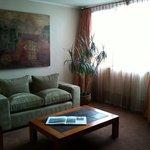 Sala de estar habitación single